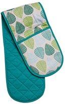 Premier Housewares Leaf Double Oven Glove - Green