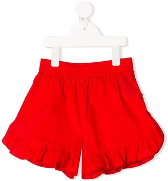 MonnaLisa Ruffle Trim Shorts