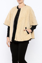 Mystree Fleece Cape Jacket