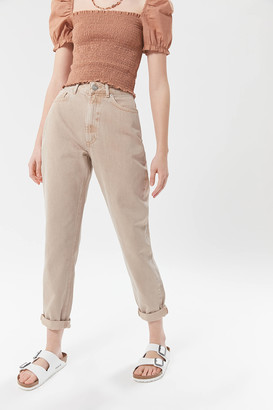 BDG High-Waisted Mom Jean Almond Denim