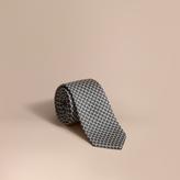 Burberry Modern Cut Silk Jacquard Tie