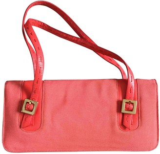 Ungaro Red Cotton Handbags