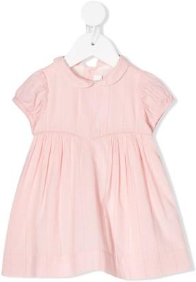 Bonpoint Embroidered Cotton Mini Dress