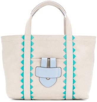 Tila March Simple Bag S ZigZag tote baf