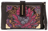 Braccialini Katia Printed Leather Wristlet