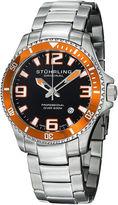 Stuhrling Original Mens Silver Tone Bracelet Watch-Sp12720