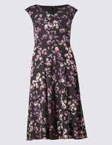 Marks and Spencer Petal Prom Sleeveless Fit & Flare Dress