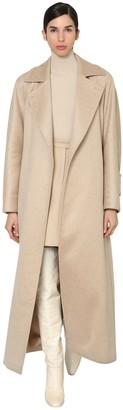 Max Mara Jago Cashmere & Camel Robe Coat