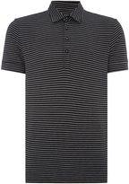 Peter Werth Men's Vista Stripe Polo Slim Fit Polo Shirt