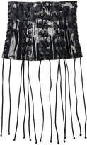 Unravel Latex All Over Lace Up Corset