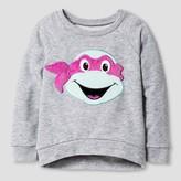 Teenage Mutant Ninja Turtles Toddler Girls' Teenage Mutant Ninja Turtles Sweatshirt - Heather Gray