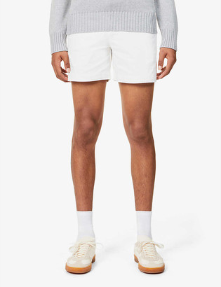 Orlebar Brown Bulldog mid-rise cotton-twill shorts