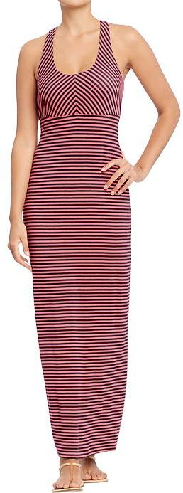 Old Navy Women's T-Back Jersey Maxi Dresses