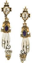 Alexander McQueen Queen and King earrings