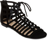 Bamboo Candice Lace-Up Gladiator Sandals