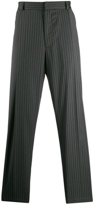 Inês Torcato tailored pin stripe trousers