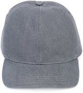 A.P.C. plain baseball cap - men - Cotton/Virgin Wool - S
