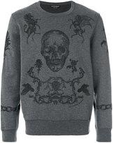 Alexander McQueen coat of arms sweatshirt - men - Cotton - S