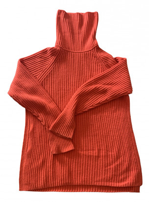 Arket Red Wool Knitwear