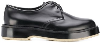 Adieu Paris x Undercover polished derby shoes
