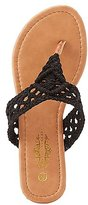 Charlotte Russe Crochet Thong Sandals