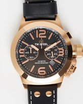 TW Steel Canteen Leather 50mm