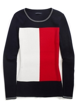 Tommy Hilfiger Colorblocked Flag Sweater