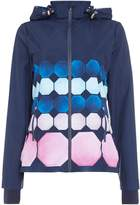 Ted Baker Marina mosaic hooded windbreaker sports jacket
