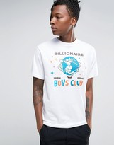 Billionaire Boys Club T-Shirt With Billion Dollar Print