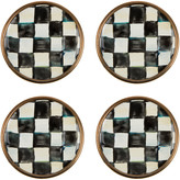Mackenzie Childs Courtly Check Enamel Magnets