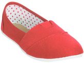 Wet Seal WetSeal Zoey Jersey Slip On Coral