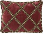 Dian Austin Couture Home Maximus Velvet Pillow with Gimp