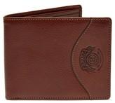 Ghurka Men's Classic Leather Wallet - Metallic