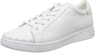 Geox Womens D Jaysen C Low-Top Sneakers White Size: 3