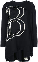 Yohji Yamamoto B letter jumper