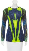 Peter Pilotto Printed Long Sleeve Top