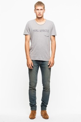 Zadig & Voltaire Toby Overdyed P T-Shirt