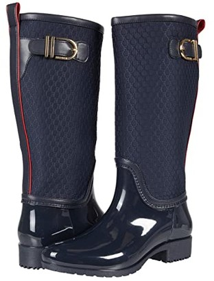 Tommy Hilfiger Fort (Navy) Women's Boots