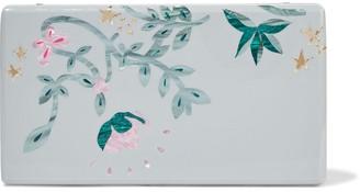 Edie Parker Jean Vines Acrylic Box Clutch