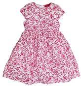 Salt&Pepper Salt and Pepper Girl's MIT roten Blumenranken Dresses,18-24 Months