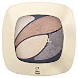 L'Oreal Color Riche Quad, E1 Timeless Beige 30g (PACK OF 4)