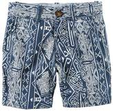 Carter's Boys 4-8 Printed Flat Front Shorts