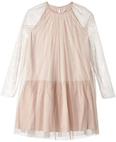 Stella McCartney Misty Rhinestone Embellished Tulle Dress Girl's Dress