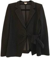 Armani Collezioni Anthracite Cotton Jacket for Women
