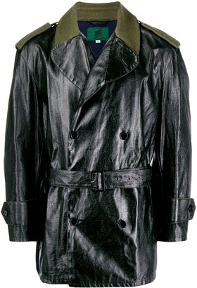 Jean Paul Gaultier Pre Owned Contrasting Short Trenchcoat