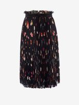 Alexander McQueen Vanity Obsession Pleated Skirt