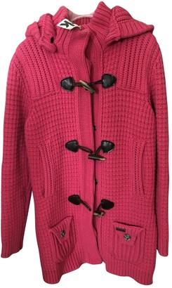 Bark Pink Wool Coats