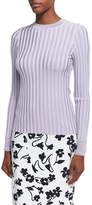 Altuzarra Regan Wide-Rib Sweater, Lilac