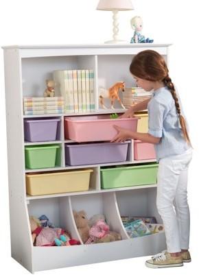 Kid Kraft Wall Storage Unit - White