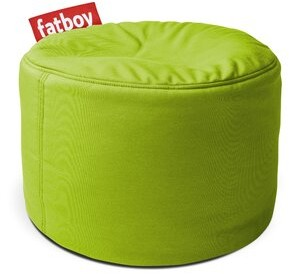 Fatboy Point Outdoor Ottoman with Sunbrella Fabric: Citrus